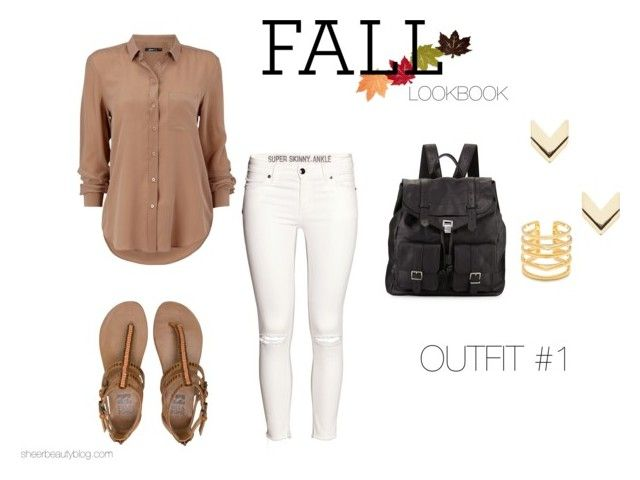 """FALL LOOKBOOK OUTFIT #1"" by sheerbeauty on Polyvore featuring H&M, Billabong, Proenza Schouler, Leslie Danzis and Stella & Dot"