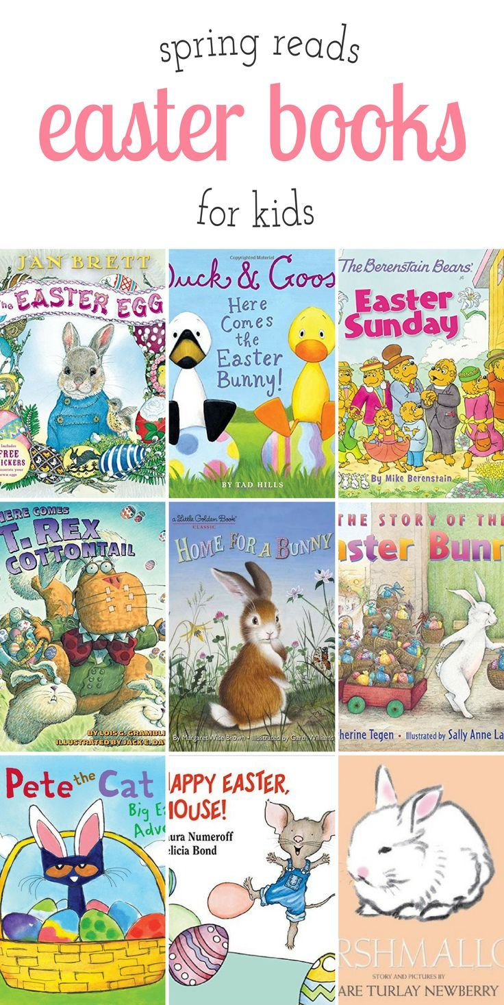 Favorite Easter books for kids, perfect for celebrating blue skies, new life, and warm spring breezes. via @https://www.pinterest.com/fireflymudpie/