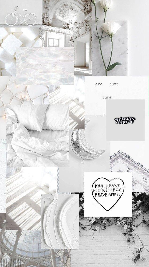 White Aesthetic Wallpaper Lockscreen Lock Screen Wallpaper Estetika Pastel Wallpaper Estetika