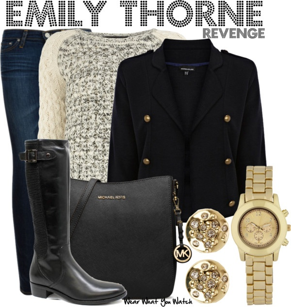 Inspired by Emily VanCamp as Emily Thorne on Revenge.
