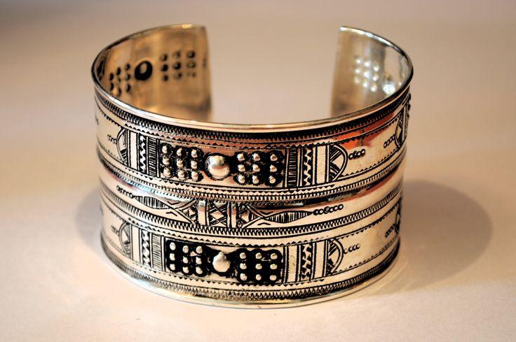 New arrival Tuareg Cuff Bracelet, in sterling silver