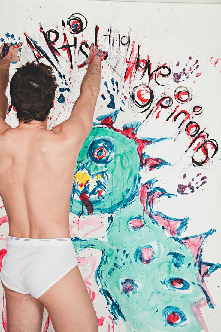 Art for Art Project // Artist Zachary Crane