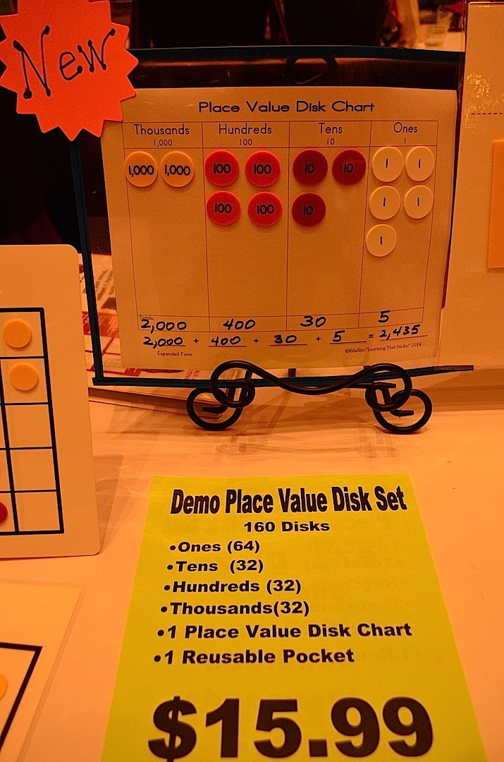 17 Best Images About Place Value Disk Stuff On Pinterest