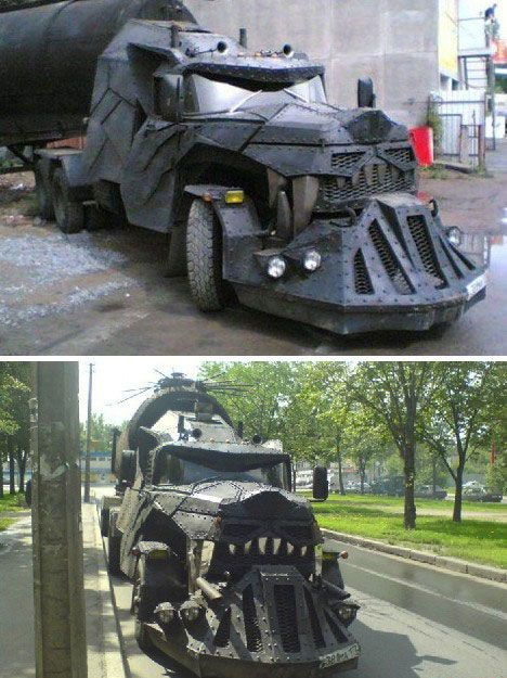 Now that's a monster truck  That's just a mean looking truck lol
