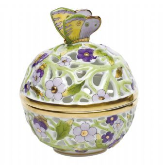 Herend Small Openwork Ball http://www.continentaltablesettings.com