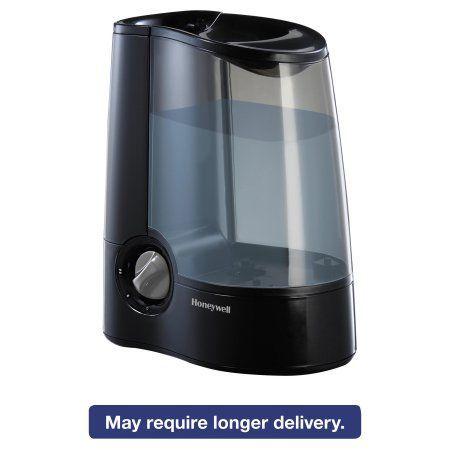 Honeywell Warm Mist Humidifier, Black, 12 7/10w x 7 1/2d x 12 1/5h