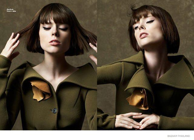 Классическая красота: Коко Роша для Harper's Bazaar Thailand