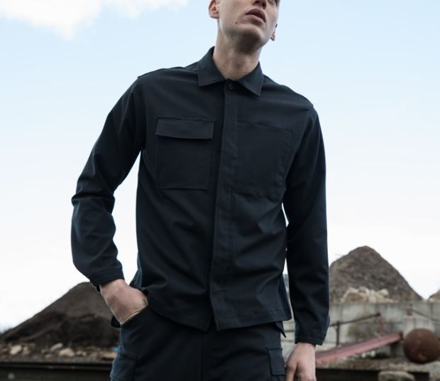 Outlier uses a new fabric recipe for a hard-wearing Workshirt