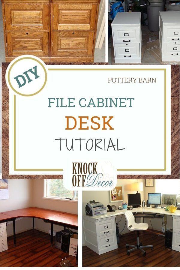 Large Corner Desk With File Cabinets File Cabinet Desk Large Corner Desk File Cabinet Desk Diy