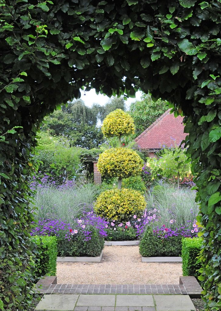 East Ruston Old Vicarage, Norfolk, detail in the Dutch Garden by ultrapanavision on Flickr