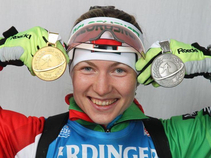 Домрачева снова хороша, помогла сборной Беларуси в эстафете медаль взять