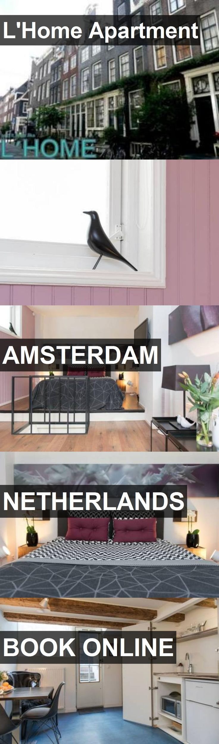 L'Home Apartment in Amsterdam, Netherlands. For more information, photos, reviews and best prices please follow the link. #Netherlands #Amsterdam #travel #vacation #apartment