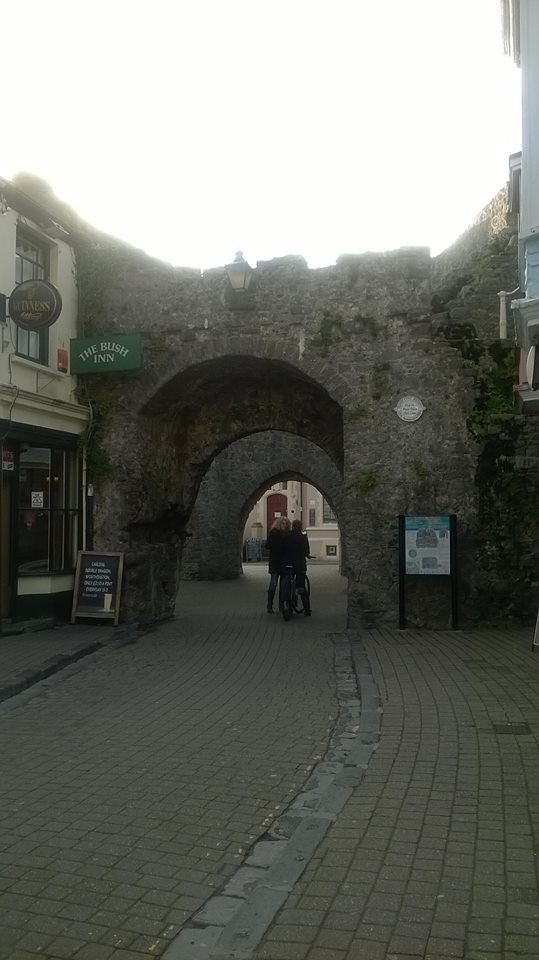 ~ Tenby ~ under one of the five arches ~ The Bush Inn ~ local pub ~ Pembrokeshire ~ Wales ~ UK ~
