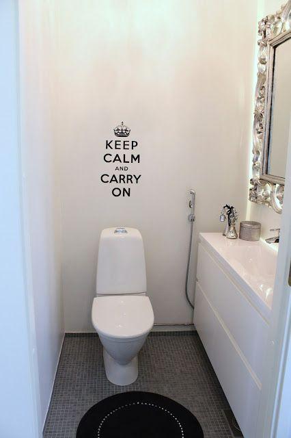 Home White Home: Vessaprojekti: tapettia vai maalia?