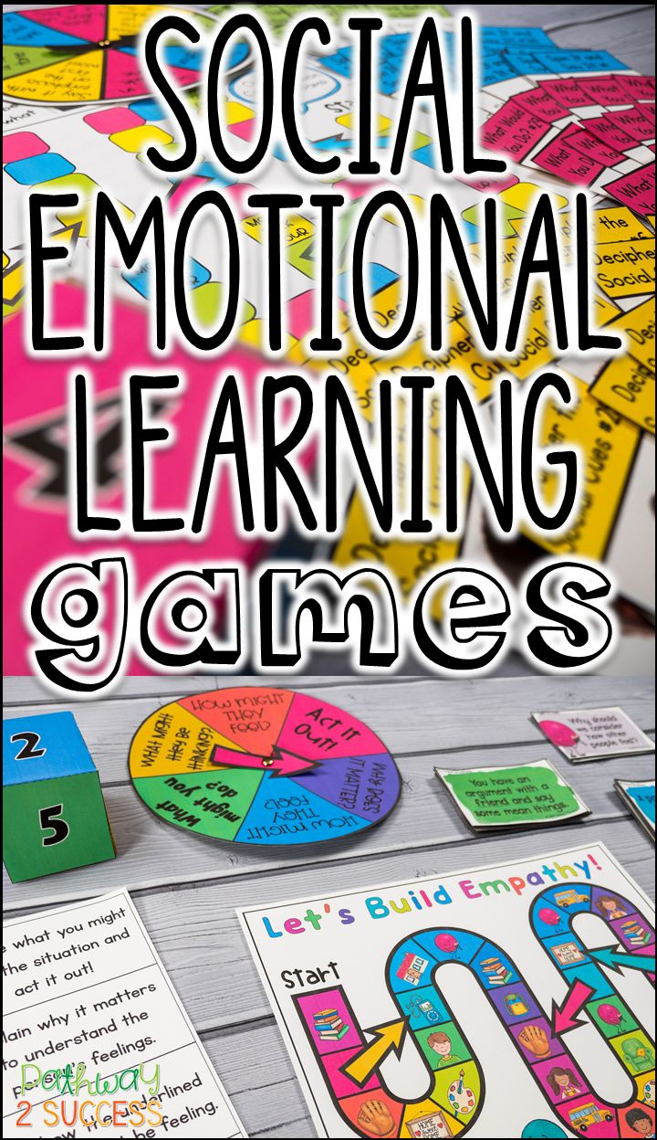 Games are the perfect tool to help teach social and emotional learning skills! Use these games and activities to teach social language, empathy, perspective-taking, social problem solving, and more!
