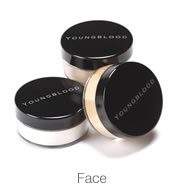 Youngblood Mineral Make-up.  Water resistant and doesn't clog up pores. Perfect for all situations and occassions