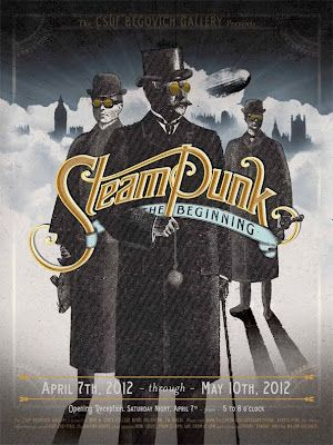 """""""The term """"Steampunk"""" was coined by Jeter to describe the writing genre of the three Cal State Fullerton alumni/authors~ Tim Powers, James Blaylock, KW Jeter.""""..."""