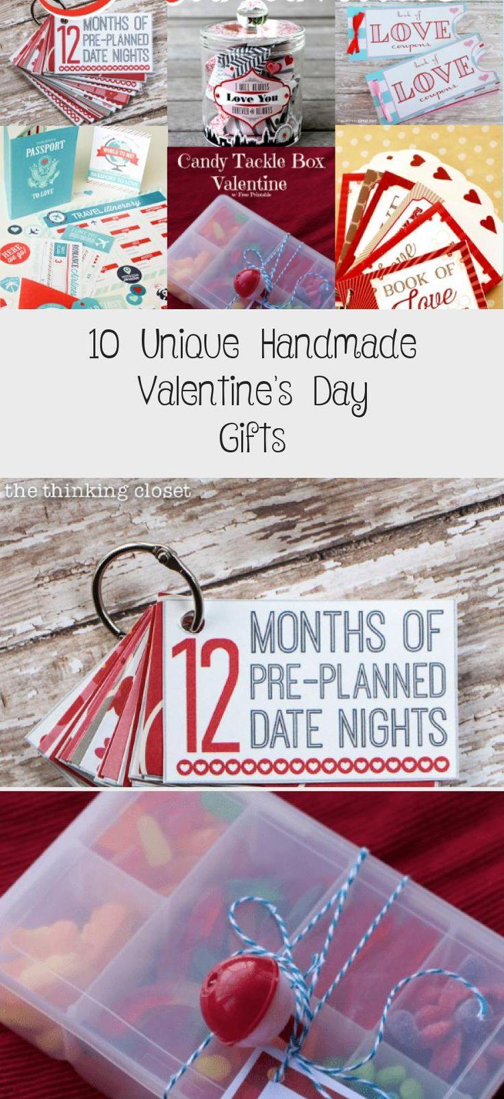 10 unique handmade valentines day gifts handmade