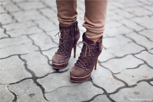 Cute!: Style, Lace Up Ankle Boots, Booty, Boots Heels, Brown Ankle Boots, Shoes 3, Closet, Accessories, Wear