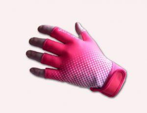 pink fingerless gloves football - Google Search