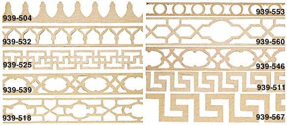 Self Adhesive Fretwork Molding Crafty Things Pinterest