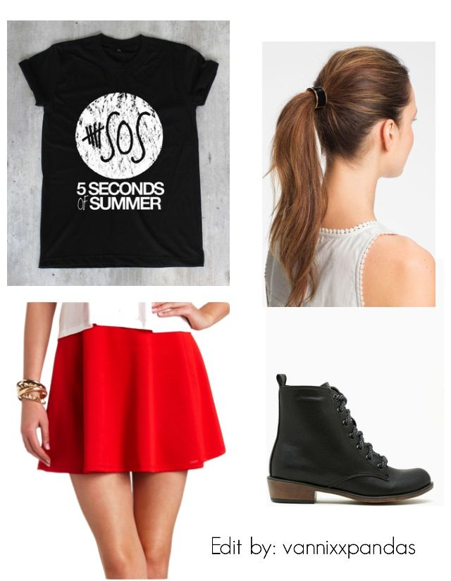 fbf8c56b5f81 5sos Outfits With Skirt Related Keywords   Suggestions - 5sos ...