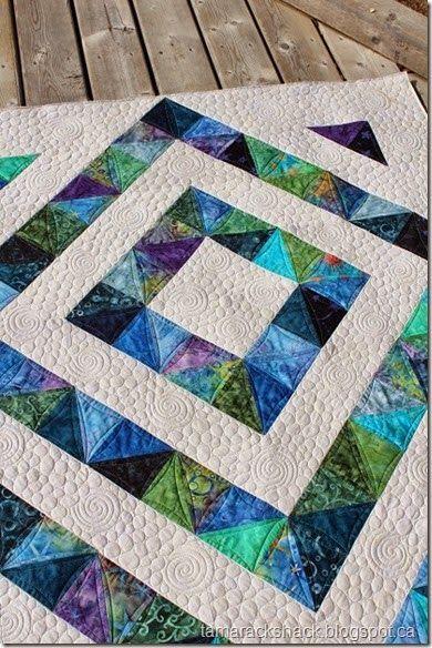Four Patch Charm Quilt #4
