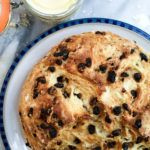 I used to buy fresh Irish soda bread every March at our local co-op.But the past few years I've been making it at home. It's so easy and so delicious right out of the oven with a thick layer of homemade cultured European butter! Pin This For Later! Irish soda bread is a quick bread, which means there's no yeast and you don't have to let it rise. Instead, buttermilk and baking soda is what causes the bread to rise. If you don't want to use buttermilk, you can let your milk souror mix 1…