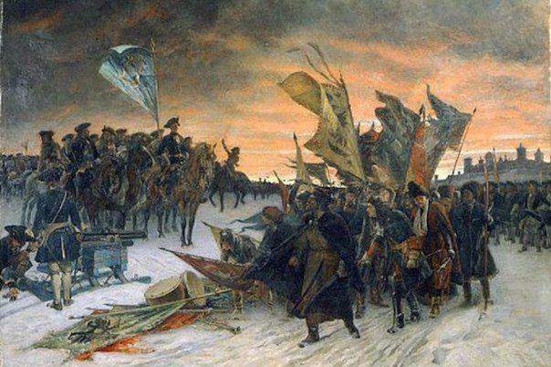 В 1714 году, во время Северной войны, русская армия под командованием Голицына…