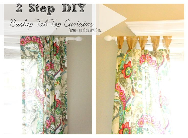 17 Best ideas about Tab Top Curtains on Pinterest   Tab curtains ...