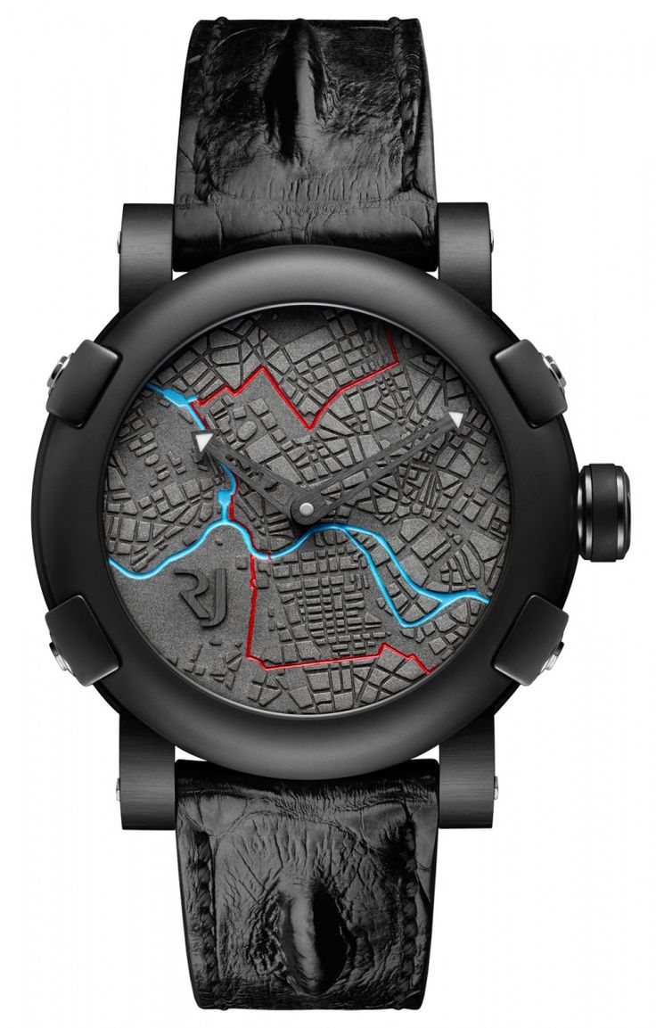 Romain Jerome Berlin-DNA by day. ref RJ.T.AU.BE.001