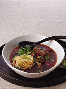 Taiwanese Beef Noodle Soup / Romulo Yanes