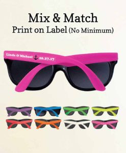 Get Personalized Sunglasses Wedding Favors For Events Such As Graduation Birthday And Many Industry Best Price