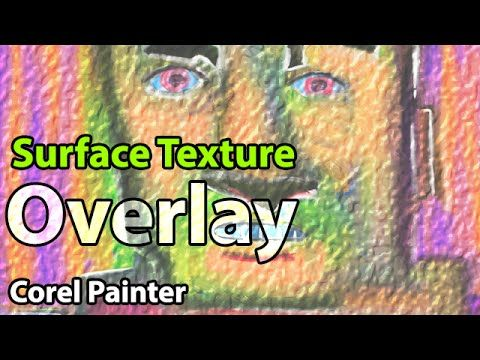 It's easy to add canvas or paper textures to your artwork using Corel Painter's Surface Texture ...