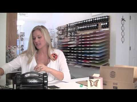 Stampin Up Demonstrator Brandy Cox gives a tutorial on using cardboard to make beautiful butterflys