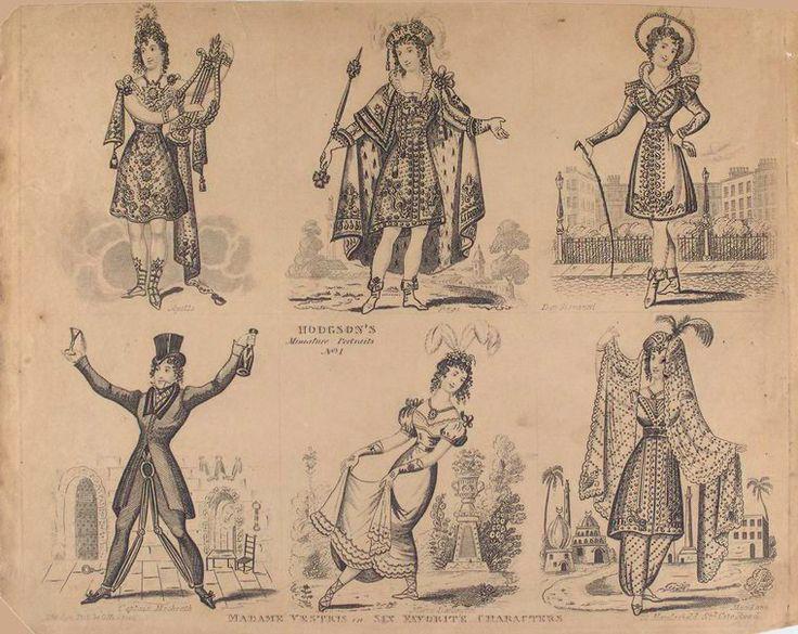Madame Vestris in male roles