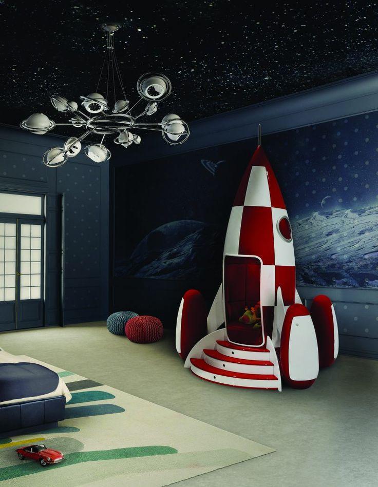 Интерьер детской комнаты в стиле Disney Land – 7 идей для вдохновения - http://bit.ly/2gEE8tL