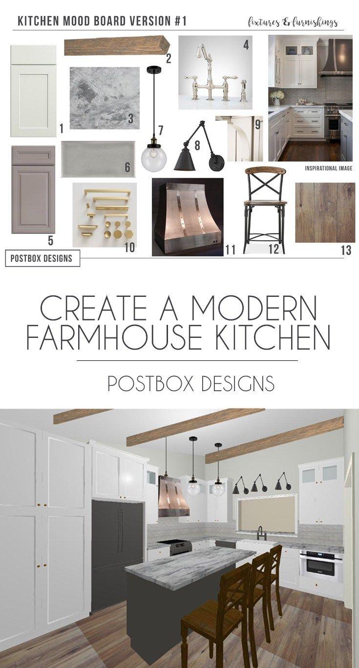 Farmhouse Kitchen: 4 Mood Boards to Create Your Dream ...