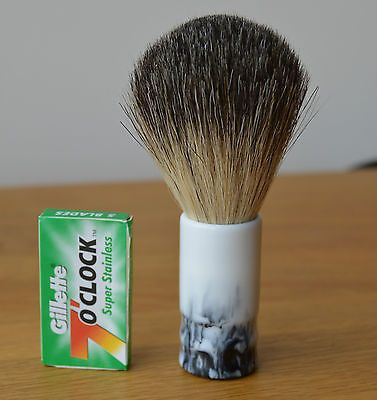 Fredricssons hand turned travel badger #shaving brush - #guinness #pattern,  View more on the LINK: http://www.zeppy.io/product/gb/2/262701723383/