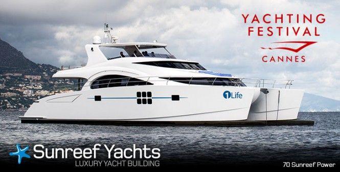 El nuevo 70 Sunreef Power Yacht en el Cannes Yachting Festival 2014