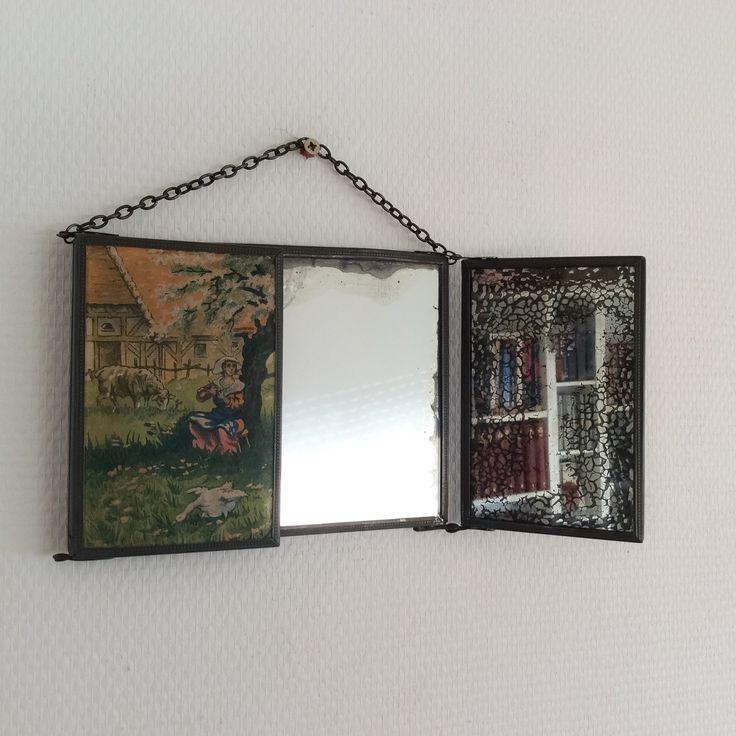 17 meilleures images propos de miroirs vintage sur for Miroir francais