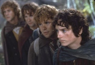 The four hobbits.