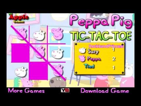 Peppa Pig Games Online Free Full Episodes   Peppa Pig Tic Tac Toe Game   Online Video Games 2013 - Best sound on Amazon: http://www.amazon.com/dp/B015MQEF2K -  http://gaming.tronnixx.com/uncategorized/peppa-pig-games-online-free-full-episodes-peppa-pig-tic-tac-toe-game-online-video-games-2013-2/