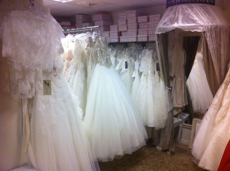 HØST SALG på brudekjoler