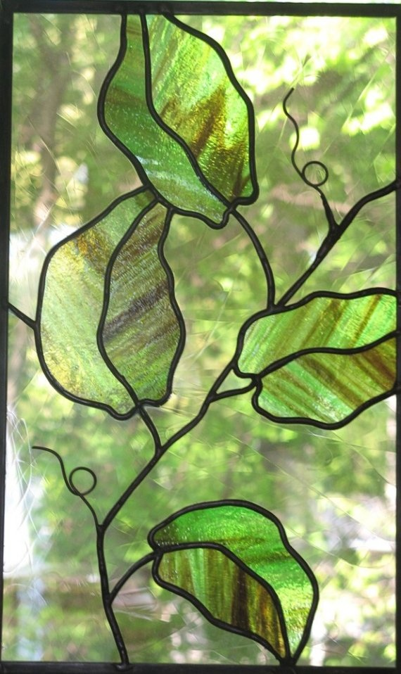241 Best Images About A Stained Glass Trees Leaves On