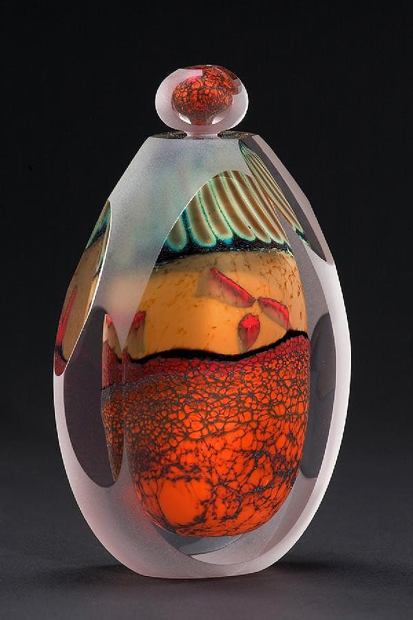 """""""Desert Series - Stoppered Bottle"""" - Steven E. Main & Karen Korobow-Main"""