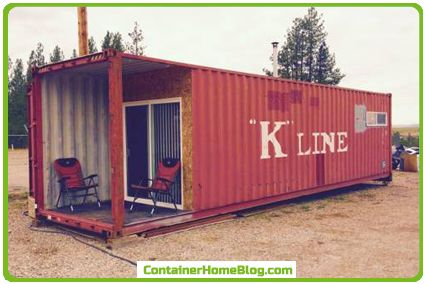 Mobile Shipping Container Home. Pablo, Montana 2