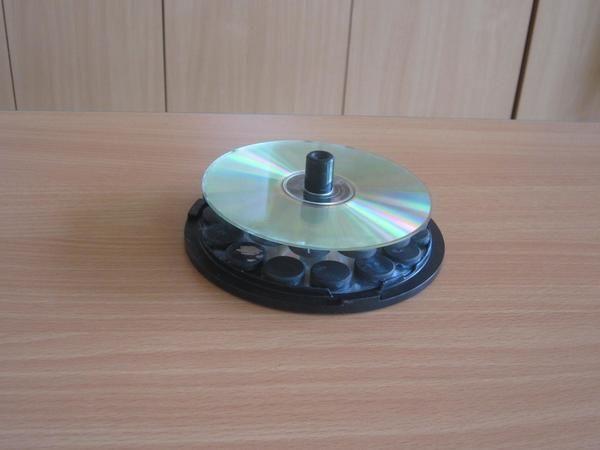 Levitující CD a jiné pokusy