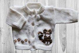 Cat Tabby Baby Sweater