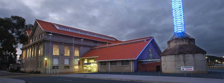 See what's happening at the glassworks during enlighten http://www.canberraglassworks.com/visit/calendar/